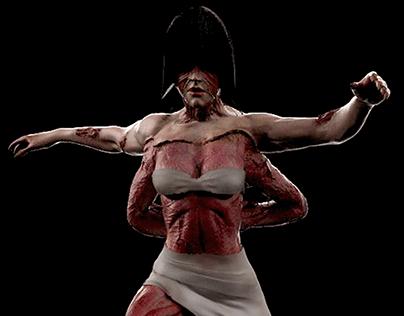 Fukuro Girl (Silent Hill) Sculpture