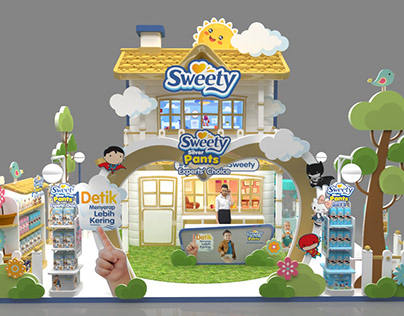 Sweety Booth 8x5m