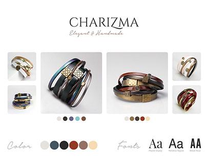 Website design for online store brand accessories