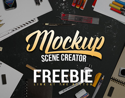 Lettering / Sketch Mockup Generator (FREEBIE)