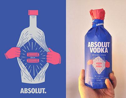 Absolut Vodka - Equal inside
