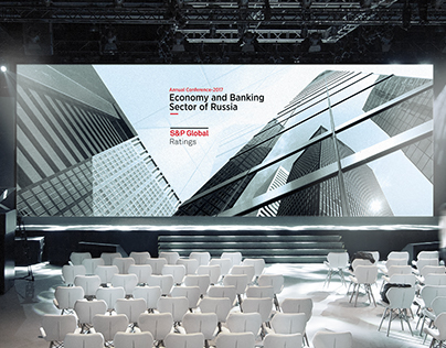 Stage Design for a Corporate Conference