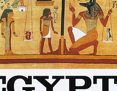 """""""The Egyptian Book of the Dead"""" cover redesign"""