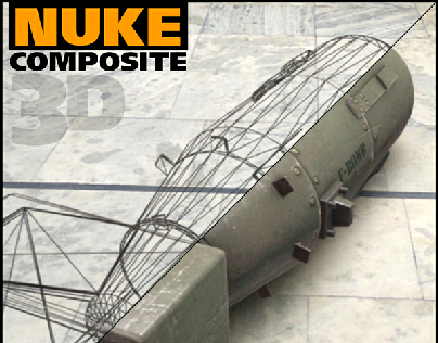 3d Nuke Composite with Breakdowns