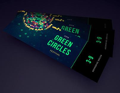 2018 GREEN CIRCLES Festival ticket