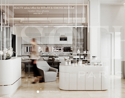 Beauty salon/office for SOTHYS & SIMONE MAHLER