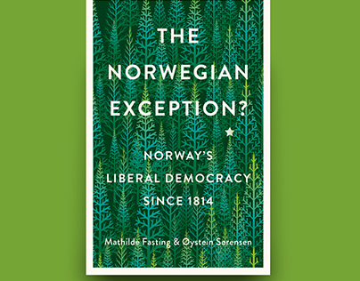 The Norwegian Exception: cover design Hurst publishers