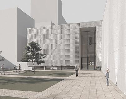 Centro de artes escénicas, CABA- A3Lestard