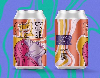 CRAFT YOUR DEVIL | Beer Can Design & Illustration