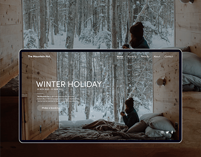 The Mountain Hut - Landing Page