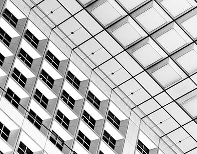 Architecture N&B Carré