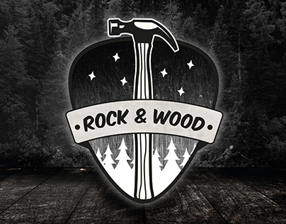 Rock & Wood - Logo