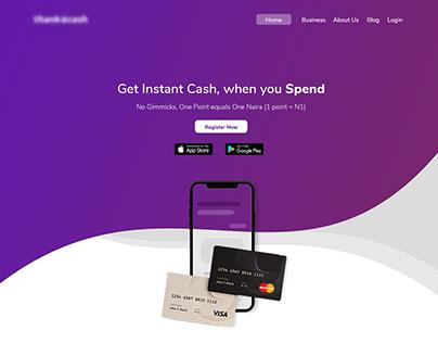 Instant Cash Landing Page