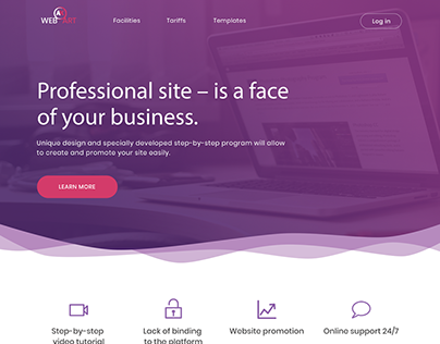 Professional Business Website Landing Page