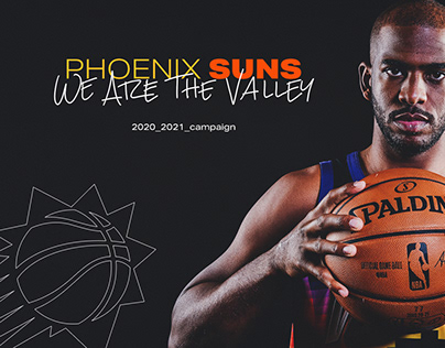 2020-2021 Phoenix Suns: We Are The Valley Campaign