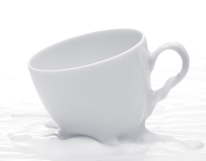 Cup that melts