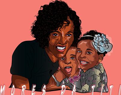 Ilustração-Amores da titia