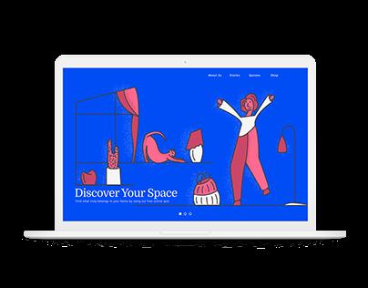 Daily Website Design / Wk 1