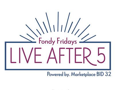 Fondy Friday's Music Festival Branding