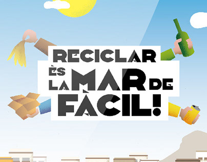 """""""Reciclar ès la mar de fàcil"""""""