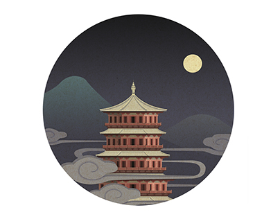 Artistic conception of china