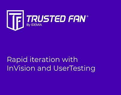 UX/UI Process // Trusted Fan - Subscription Management