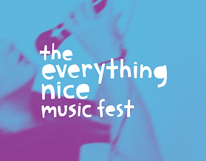 The Everything Nice Music Fest Branding