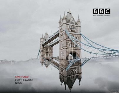 BBC News Portal - redesign