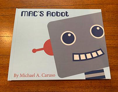 Children's Book Illustration: Mac's Robot