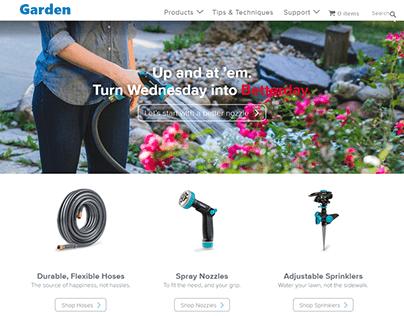Garden online store   Wordpress ecommerce store