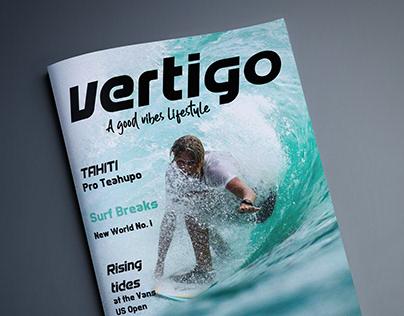 Vertigo - Diseño de Revista