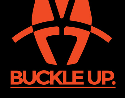 Buckle Up Race Harness Tee Design