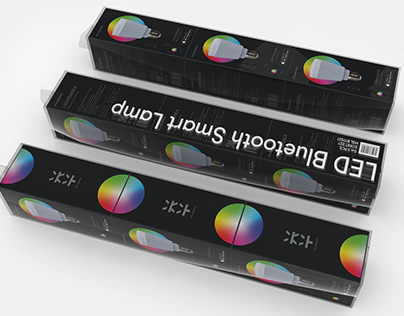 Mixberry Color Wheel Lamps Packaging