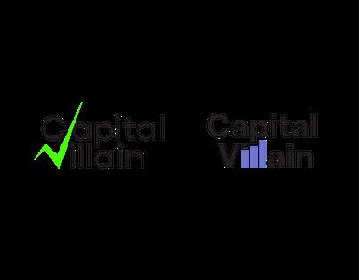 Capital Villain Logo Design