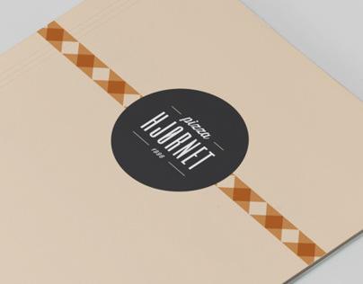 Pizza Hjørnet — Identity