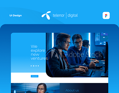 Telenor Digital PL - Landing Page