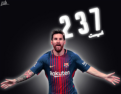 237 assists made by leo messi