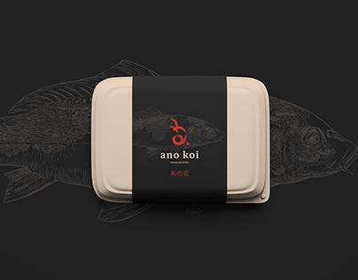 Ano Koi - Brand Identity, Packaging Design