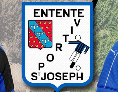 Entente Sportive de St Joseph Langevin football concept