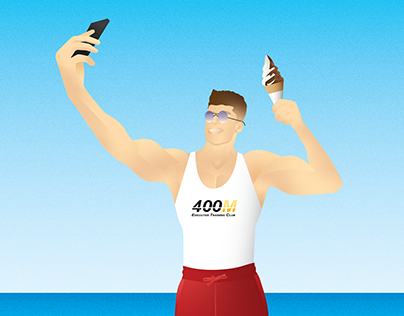 Summer illustration for 400M Executive Training Club