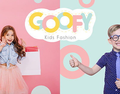 Goofy - Kids Fashion Brand Identity