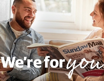 News Corp 'We're for you'