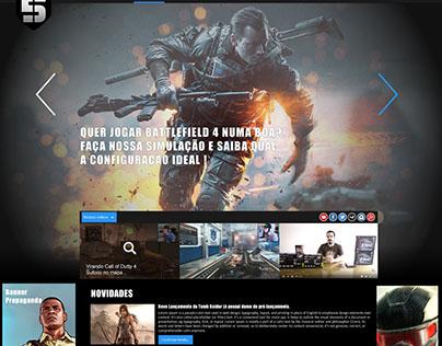 Five Sports Gaming Web Portal http://www.fiveesports.co