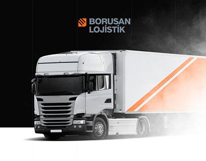 Website Design | Borusan Lojistik