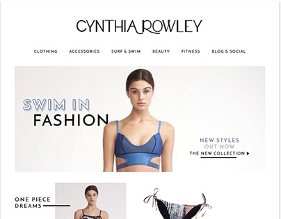 Fashion E-Mail Newsletter & Assets
