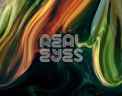 REALEYES - Logo & Key Visual