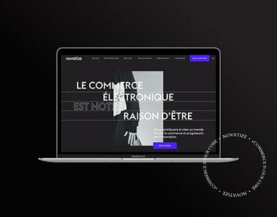 Novatize - New Website