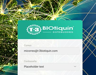 Biotiquín distribuidores | Tablero de control