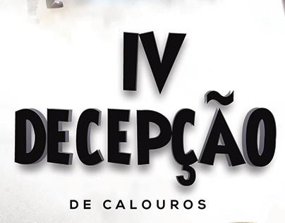 Identidade visual: IV Decepção de Calouros