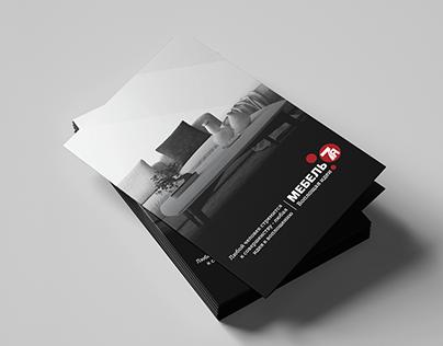 """Print design forfurniture store """"Мебель 7я"""""""